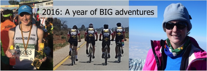 2016: A year of BIG adventures