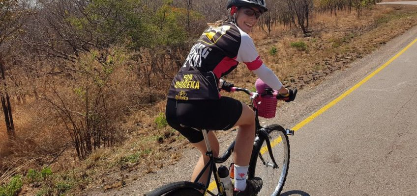 Riding the Cape Cycle Tour on my Qhubeka Buffalo Bicycle